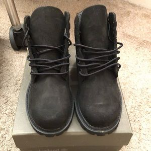 Black Timberlands Boots Size 11